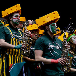 Mar 24, 2013; Baton Rouge, LA, USA; The Green Bay Phoenix band performs during a game against the LSU Tigers in the second half of the first round of the 2013 NCAA womens basketball tournament at the Pete Maravich Assembly Center.  LSU defeated Green Bay 75-71. Mandatory Credit: Derick E. Hingle-USA TODAY Sports