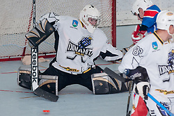 Jure Pavlic, goalie of Dinamiti Horjul, at inline hockey match between Dinamiti Horjul and Slovenia at HorjulCup, on June 9, 2011 in Sportni park, Horjul, Slovenia. (Photo by Matic Klansek Velej / Sportida)