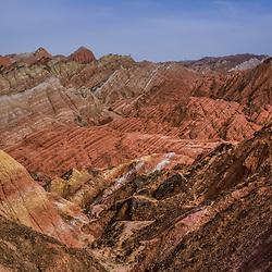 China - Zhangye Danxia Geopark (Gansu)