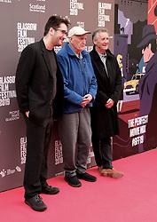 "Glasgow Film Festival, Sunday 3rd March 2019<br /> <br /> UK Premiere of ""Final Ascent""<br /> <br /> Pictured: Robbie Fraser, Hamish MacInnes and Sir Michael Palin<br /> <br /> Alex Todd | Edinburgh Elite media"