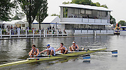 Henley, GREAT BRITAIN,  2012 Henley Royal Regatta. Imperial College London row past Stewards' Enclosure, in their Heat, of the Prince Albert Challenge Cup. Thursday  10:22:48  28/06/2012 [Mandatory Credit, Intersport-images] ..Rowing Courses, Henley Reach, Henley, ENGLAND . HRR