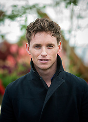 © Licensed to London News Pictures.19/05/2013. Hollywood actor Eddie Redmayne pops along to the 100th RHS Chelsea Flower Show in London today.  Photo credit: Alison Baskerville/LNP