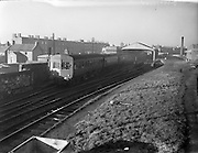 Last Train leaves Harcourt Station.31/12/1958