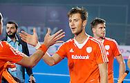 BHUBANESWAR  (INDIA)  -   Champions Trophy Hockey.  Netherlands vs Germany (4-1).  Dutch Martijn Havenga.  .
