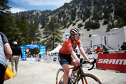 Emma White (USA) finishes Amgen Tour of California Women's Race empowered with SRAM 2019 - Stage 2, a 74 km road race from Ontario to Mount Baldy, United States on May 17, 2019. Photo by Sean Robinson/velofocus.com