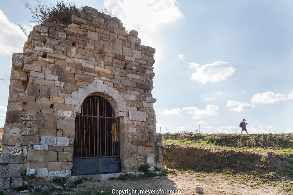 Ermita de San Felices historic sights along the Camino Frances