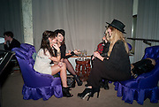 SARA-ELLA OSBEK; KELLY DEENE; CHLOE HAYWARD, NME Awards after-party. Sanderson Hotel. 29 February 2012