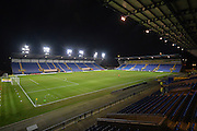 The Kassam Stadium before the Sky Bet League 2 match between Oxford United and York City at the Kassam Stadium, Oxford, England on 1 March 2016. Photo by Adam Rivers.