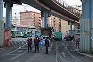 Roma, 08/03/2014: Deposito ATAC, via Prenestina