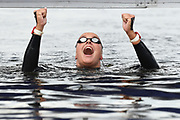 Sharon Van Rouwendaal (NED) competes and wins the Gold medal on Women's 5 kms Open Water during the Swimming European Championships Glasgow 2018, at Tollcross International Swimming Centre, in Glasgow, Great Britain, Day 7, on August 8, 2018 - Photo Stephane Kempinaire / KMSP / ProSportsImages / DPPI