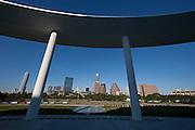 Austin Texas Skyline from Long Center