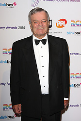 TONY BLACKBURN arrives for the Radio Academy Awards, London, United Kingdom. Monday, 12th May 2014. Picture by i-Images