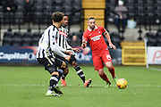 Leyton Orient midfielder Sammy Moore during the Sky Bet League 2 match between Notts County and Leyton Orient at Meadow Lane, Nottingham, England on 20 February 2016. Photo by Jon Hobley.