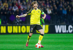 Ivan Rakitic of Sevilla  during football match between NK Maribor and Sevilla FC (ESP) in 1st Leg of Round of 32 of UEFA Europa League 2014 on February 20, 2014 at Stadium Ljudski vrt, Maribor, Slovenia. Photo by Vid Ponikvar / Sportida