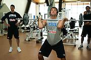 Bormio, 16/07/2006<br /> Basket, Nazionale Italiana Maschile Senior<br /> Allenamento in Palestra<br /> Nella foto: Daniele Cavaliero<br /> Foto Ciamillo