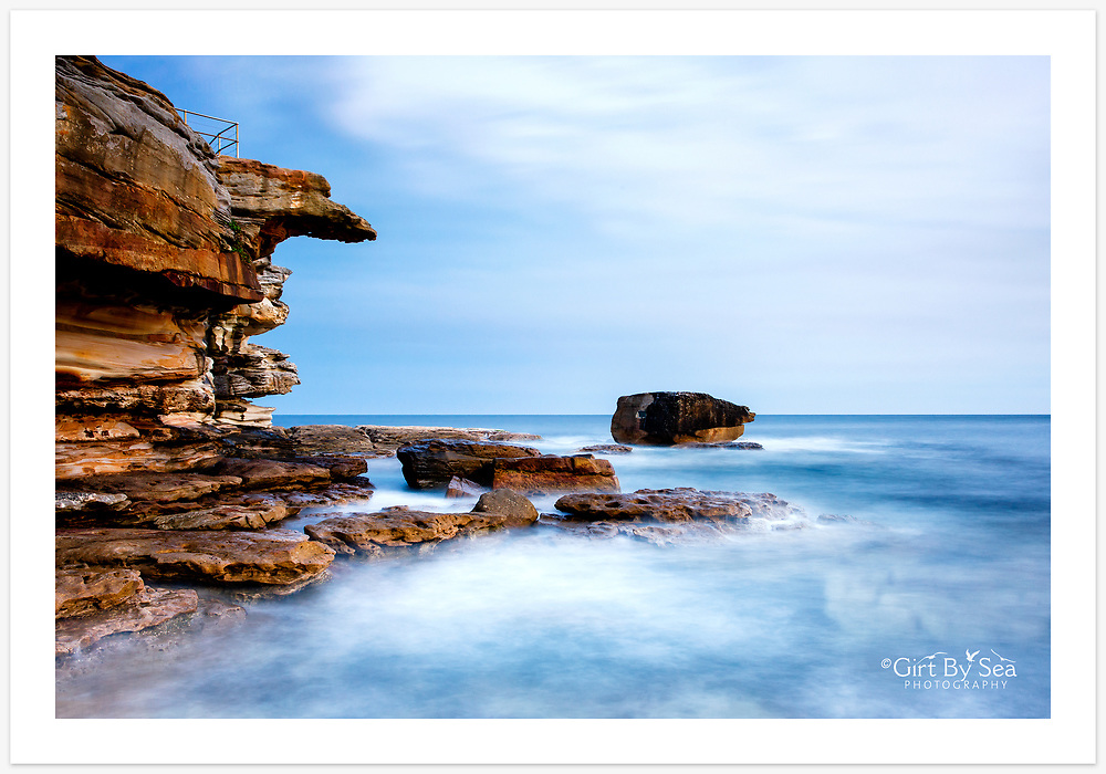 Long exposure at Ben Buckler Point, North Bondi [Bondi, NSW]<br /> <br /> To purchase please email orders@girtbyseaphotography.com quoting the image number PB109567, and your preferred print size. You will receive a quick reply recommending print media options to best suit your chosen image, plus an obligation-free quotation. Current standard size prices are published on the Pricing page.