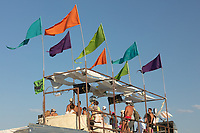 Colorful flags My Burning Man 2018 Photos:<br />