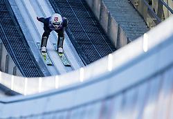 31.12.2017, Olympiaschanze, Garmisch Partenkirchen, GER, FIS Weltcup Ski Sprung, Vierschanzentournee, Garmisch Partenkirchen, Training, im Bild Anders Fannemel (NOR) // Anders Fannemel of Norway during his Practice Jump for the Four Hills Tournament of FIS Ski Jumping World Cup at the Olympiaschanze in Garmisch Partenkirchen, Germany on 2017/12/31. EXPA Pictures © 2017, PhotoCredit: EXPA/ Jakob Gruber