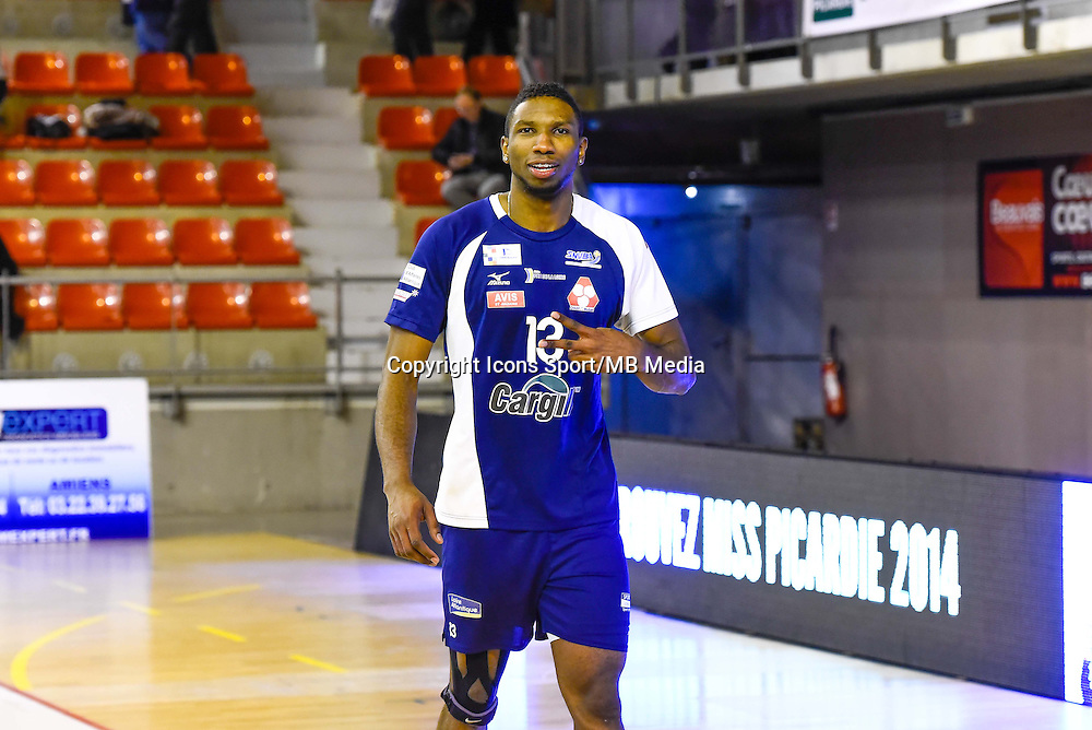 Ronald JIMENEZ  - 19.12.2014 - Beauvais / Saint Nazaire - 12e journee de Ligue A<br />Photo : Fred Porcu / Icon Sport