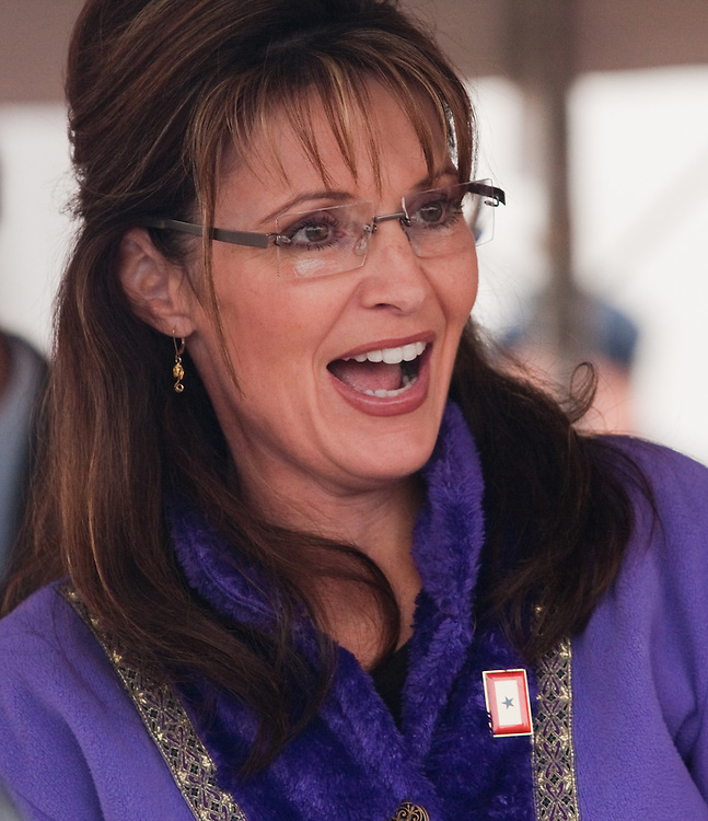 Governor Sarah Palin at the Governor's Picnic, July 25, 2009, Anchorage, Alaska
