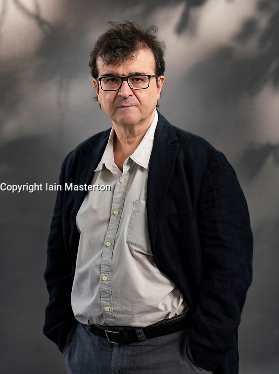Edinburgh, Scotland, UK. 24 August 2019. Javier Cercas.  Spanish novelist Javier Cercas delves into the bloody history of his nation and family in Lord of All the Dead. Iain Masterton/Alamy Live News.