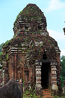 The ancient Hindu temple complex of My Son in Qang Nam Province of central Vietnam