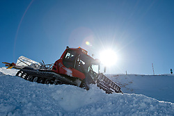 Move snow with the snow cat.