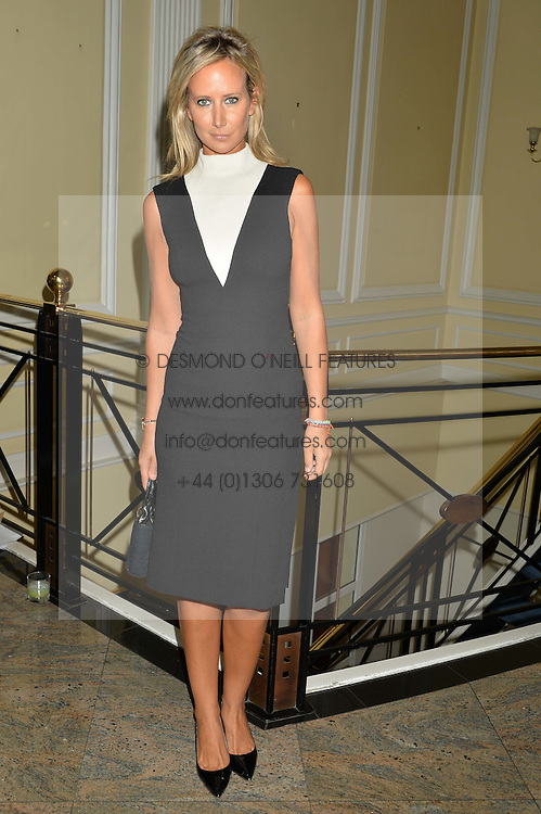 LADY VICTORIA HERVEY at the Art of Futebol - a charity auction of 11 footballs signed by 11 Brazilian legends from Pele to Neymar & decorated and designed by 11 leading contemporary artists in aid of Action for Brazil's Children Trust held at the Brazilian Embassy, 16 Cockspur Street, London on 10th July 2014.