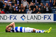 Queens Park Rangers striker Jamie Mackie (12) reacts to a missed shooting opportunity during the EFL Sky Bet Championship match between Queens Park Rangers and Burton Albion at the Loftus Road Stadium, London, England on 23 September 2017. Photo by Richard Holmes.