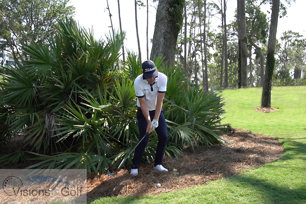 Cameron Smith<br /> Face on swing sequence chipping<br /> 2018<br /> <br /> Golf Pictures by Mark Newcombe/visionsingolf.com