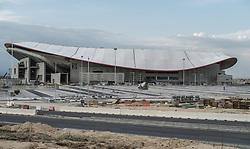 August 29, 2017 - Madrid, Spain - Finalization of the works of the Wanda Metropolitano Stadium. Is a multipurpose stadium located in Madrid. Owned by Club Atlético de Madrid. August 30, 2017  (Credit Image: © Oscar Gonzalez/NurPhoto via ZUMA Press)