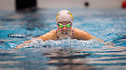 Lauren Boyle of the North Shore Swim Club competes in the 50m Breast Stroke event during the State Short Course Swim Champs at the Wellington Regional Aquatic Centre on Sunday the 28th of September 2013.  <br /> Photo by Marty Melville/www.Photosport.co.nz