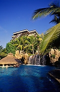 Image of the Fairmont Acapulco Princess Resort Hotel pool in Acapulco, Mexico