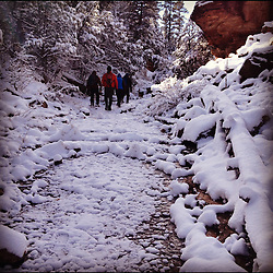 First Snow Instagram