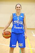 ROMA 31 ottobre 2011<br /> RADUNO BASKET NAZIONALE FEMMINILE <br /> NELLA FOTO LICIA CORRADINI