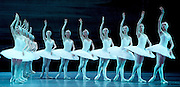 Swan Lake <br /> Bolshoi Ballet <br /> at The Royal Opera House, Covent Garden, London, Great Britain <br /> press photocall / rehearsal <br /> 29th July 2016 <br /> <br /> <br /> Anna Nikulina as Odette <br /> <br /> Russian Skvortsov as Prince Siegfried <br /> <br /> <br /> <br /> Photograph by Elliott Franks <br /> Image licensed to Elliott Franks Photography Services