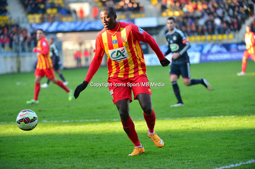 Adamo COULIBALY - 04.01.2014 - Lens / Lyon - Coupe de France<br />Photo : Dave Winter / Icon Sport