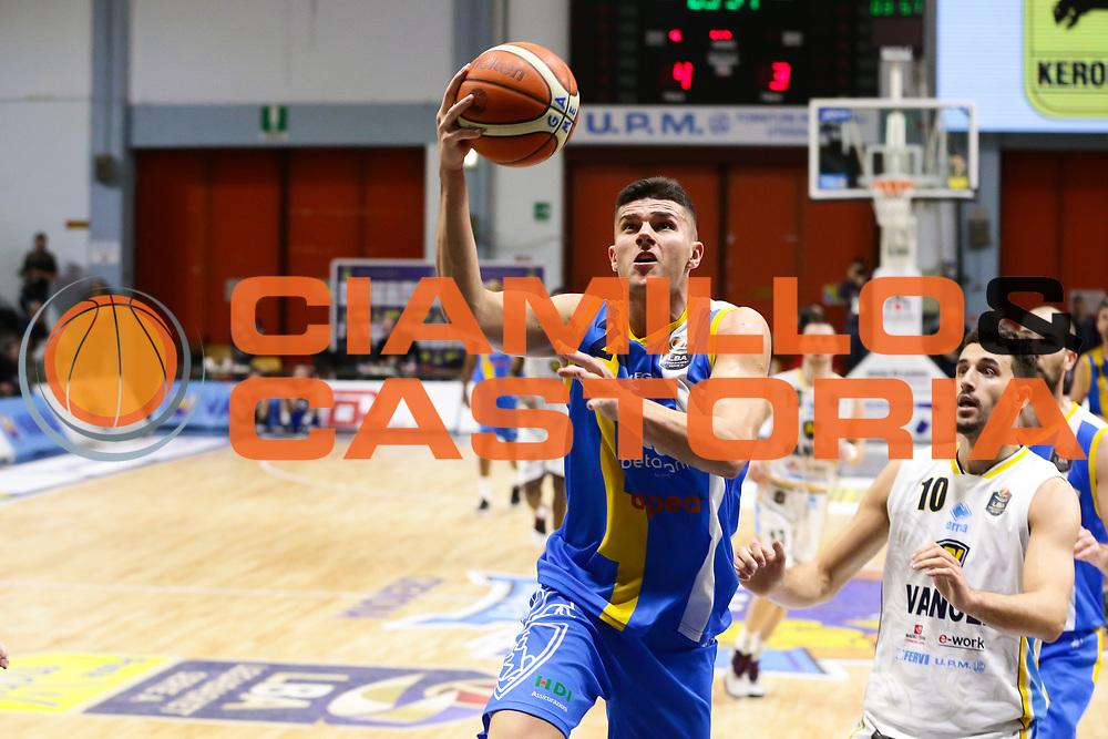Vojislav Stojanovic<br /> Vanoli Cremona - Betaland Capo D Orlando<br /> Lega Basket Serie A 2016/2017<br /> Cremona 12/03//2017<br /> Foto Ciamillo-Castoria / M. Brondi