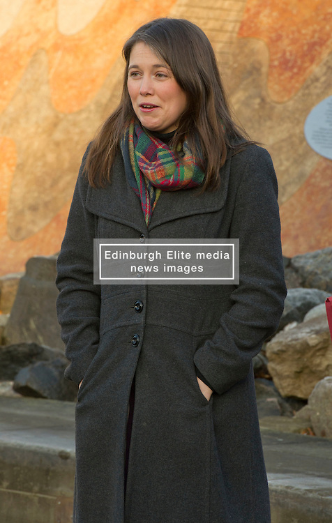 Pictured: Aileen Campbell<br /> <br /> Today Minister for Public Health, Aileen Campbell,  met pupils from Holyrood Primary School to mark the day smoking in cars with children becomes illegal across Scotland<br /> <br /> Ger Harley | EEm 5 December 2016