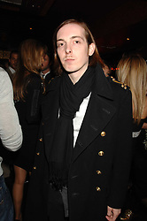 Musician PHIL CAZAL at a party in honour of Ivana Trump hosted by Mohieb Dahabieh at Pasha, Gloucester Road, London on 25th January 2008.<br />