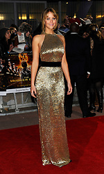 Jennifer Lawrence at the premiere of The Hunger Games in  London, Wednesday 14th March 2012. Photo by: i-Images