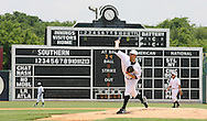 June 2, 2010; Birmingham, AL, USA; Birmingham Barons pitcher Matt Long throws to the Tennessee Smokies at the 15th Annual Rickwood Classic at Rickwood Field. Mandatory credit  Marvin Gentry