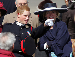 File photo dated 12/04/06 of Prince Harry with his former nanny Tiggy Pettifer. The Duchess of Sussex looks set to have turned to her inner circle of faithful friends for son Archie's godparents.