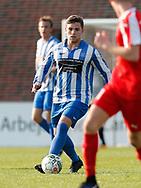 FODBOLD: Andreas Svinggaard (Snekkersten) under finalen i Seriepokalen mellem Hundige Boldklub og Snekkersten IF den 18. maj 2017 på Brøndby Stadion. Foto: Claus Birch