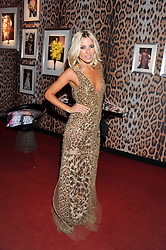MOLLIE KING at a party hosted by Roberto Cavalli to celebrate his new Boutique's opening at 22 Sloane Street, London followed by a party at Battersea Power Station, London SW8 on 17th September 2011.
