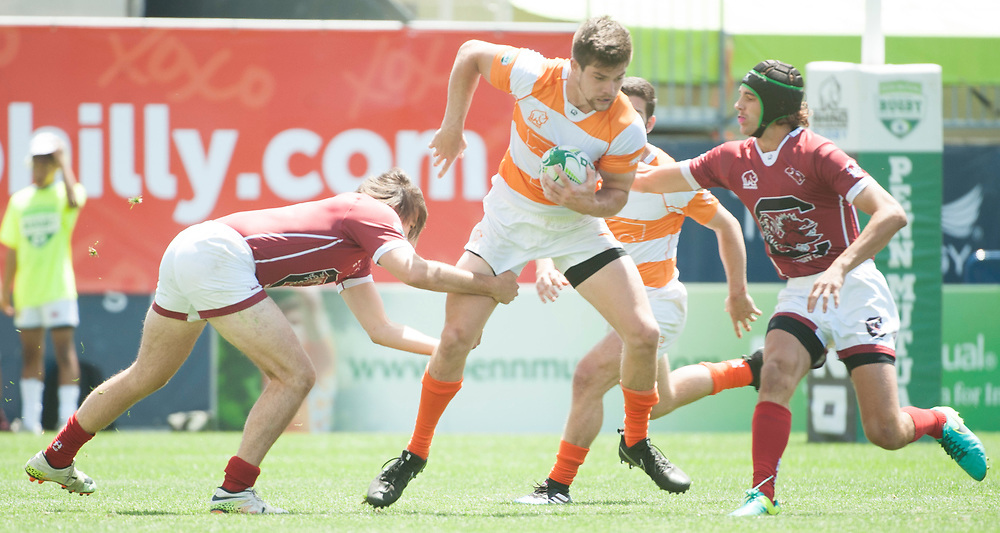 South Carolina and Tennessee compete in pool play of the 2017 Penn Mutual Collegiate Rugby Championship at Talen Energy Stadium in Philadelphia. June 3, 2017. <br /> <br /> By Jack Megaw.<br /> <br /> www.jackmegaw.com<br /> <br /> jack@jackmegaw.com<br /> @jackmegawphoto<br /> [US] +1 610.764.3094<br /> [UK] +44 07481 764811