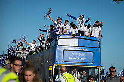 Brighton & Hove Albion players celebrate their Championship Promotion - Mandatory by-line: Jason Brown/JMP - 14/05/17 - FOOTBALL - Brighton and Hove Albion, Sky Bet Championship 2017 - Brighton and Hove Albion Promotion Parade