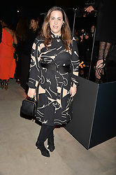 Mary Katrantzou at the Veuve Clicquot Widow Series launch party curated by Carine Roitfeld and CR Studio held at Islington Green, London England. 19 October 2017.