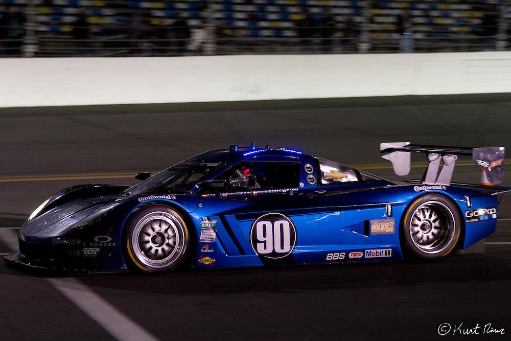 during the Rolex 24 Hour Race at Daytona International Speedway on January 28, 2012 (Kurt Rivers/KnightNews.com)