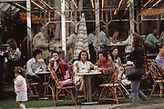 Champs Elysees; restaurant café. Paris, France..